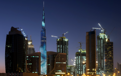 Burj Khalifa LED Display